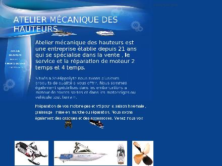 Atelier M&eacute;canique des Hauteurs Inc (450-224-8729) - Website thumbnail - http://www.ateliermecaniquedeshauteurs.com