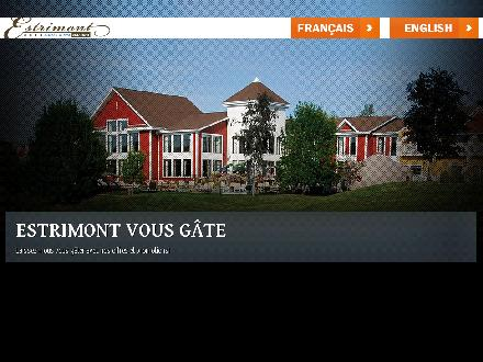 Estrimont Suites &amp; Spa (819-843-1616) - Onglet de site Web - http://www.estrimont.ca