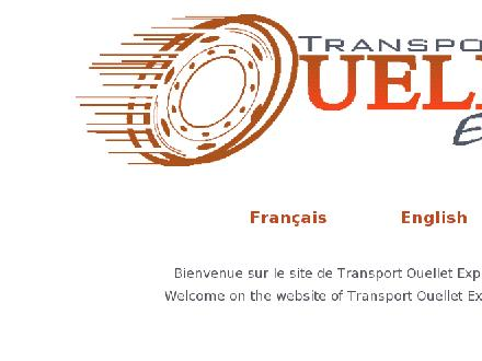Transport Ouellet Express Inc (450-777-0024) - Onglet de site Web - http://www.transportouelletexpress.com