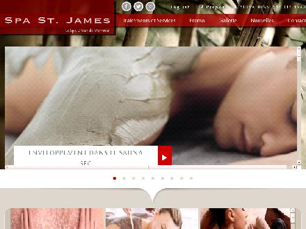 SPA St-James (514-844-4590) - Website thumbnail - http://www.spastjames.com