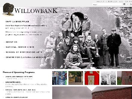 Willowbank School Of Restoration Arts (905-262-1239) - Onglet de site Web - http://willowbank.ca