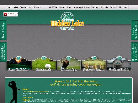 Hidden Lake Golf Club (905-336-3660) - Onglet de site Web - http://www.hiddenlakegolf.com