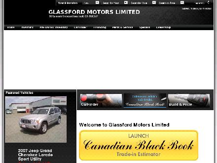 Glassford Chrysler Limited (519-485-0940) - Website thumbnail - http://www.glassfordchrysler.com