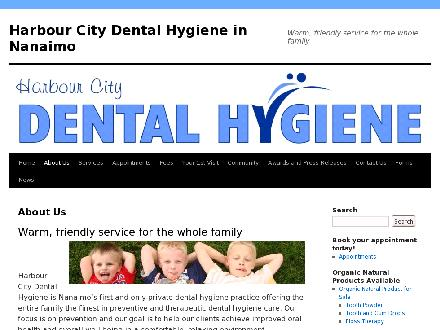 Harbour City Dental Hygiene (250-754-3885) - Website thumbnail - http://www.harbourcitydental.com