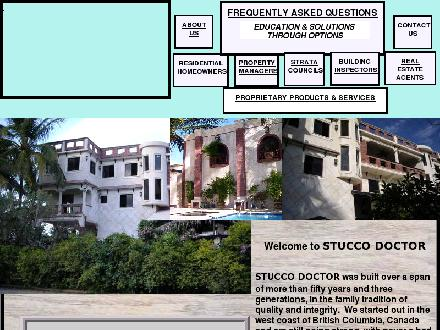 Stucco Doctor (250-474-3037) - Website thumbnail - http://www.stuccodoctor.com