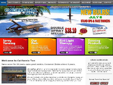 California Tan Ltd (403-278-4918) - Website thumbnail - http://www.caltan.ca