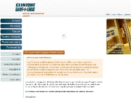 Clinique Radiologique St-Louis (418-653-1890) - Website thumbnail - http://www.cliniquemedicalestlouis.com/clinique-de-radiologie