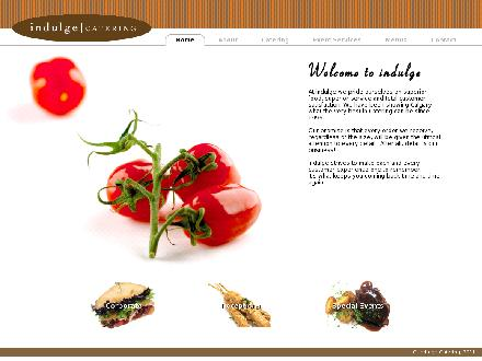 Indulge Catering (403-229-9029) - Website thumbnail - http://www.indulgecatering.com