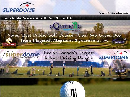 SuperDome Sports Centre (613-590-1660) - Onglet de site Web - http://www.superdome.ca