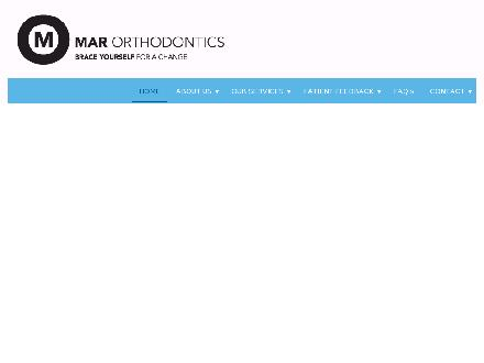 Mar Orthodontics (780-458-4169) - Onglet de site Web - http://www.marorthodontics.ca