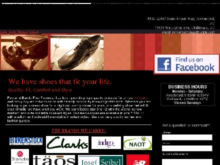 Payton & Buckle Fine Footwear (604-859-2330) - Website thumbnail - http://www.paytonandbuckle.com/