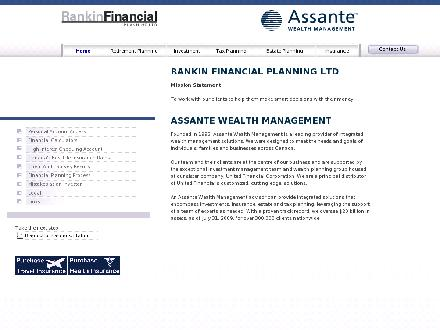 Rankin Financial Planning Ltd (RFPL) & Assante Wealth Management Ltd (902-843-7375) - Website thumbnail - http://www.rfpl.ca