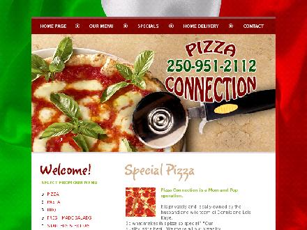 Pizza Connection (250-951-2112) - Onglet de site Web - http://www.parksvillepizzaconnection.com