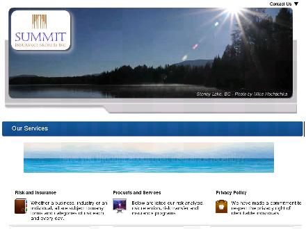 Summit Insurance Brokers Inc (250-564-4401) - Onglet de site Web - http://www.summitins.ca