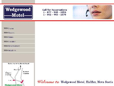 Wedgewood Motel (902-443-1576) - Website thumbnail - http://www.wedgewoodmotel.ca