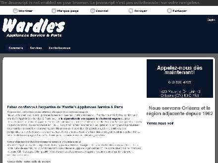 Wardle's (613-830-4768) - Website thumbnail - http://wardlesparts.ca/