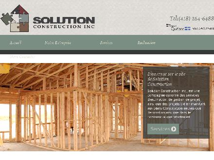 Solution Extérieur Inc (418-264-6488) - Onglet de site Web - http://www.solution-construction.com