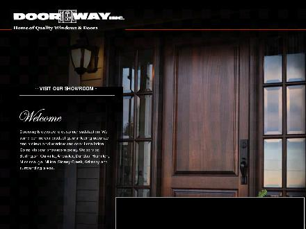 Door Way Inc (905-639-5122) - Onglet de site Web - http://www.doorwayinc.ca