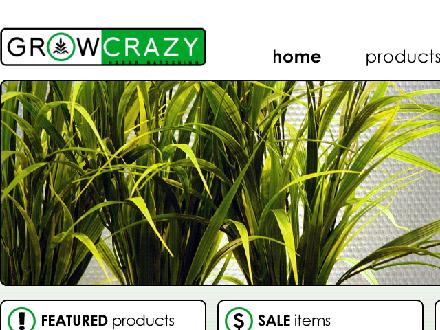 Grow Crazy (709-726-4769) - Website thumbnail - http://www.growcrazy.ca