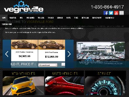 Vegreville Ford Sales &amp; Service Inc (780-603-4271) - Website thumbnail - http://www.vegford.ca