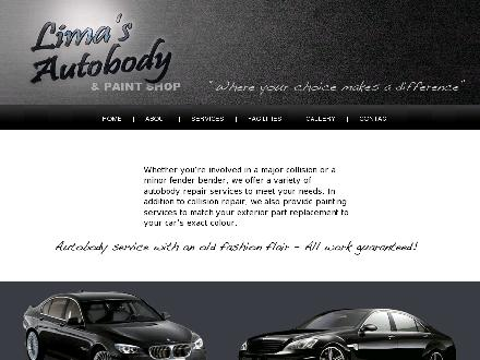 Lima's Body &amp; Paint Shop (250-384-6234) - Website thumbnail - http://www.limasautobody.ca