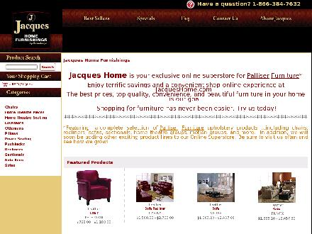Jacques Home Furnishings (403-640-7666) - Onglet de site Web - http://www.jacqueshome.com