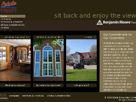 Estate Renovation Centre (289-803-2469) - Website thumbnail - http://www.estaterenovationcentre.ca