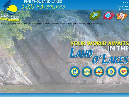 Travellandolakes.com - Website thumbnail - http://www.travellandolakes.com
