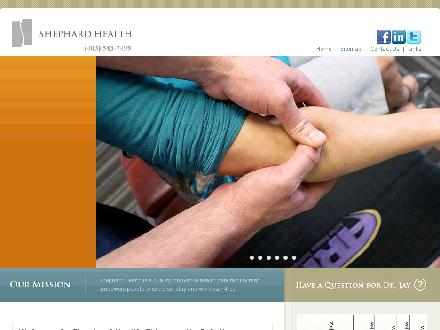 Shephard Health (403-543-7499) - Website thumbnail - http://www.shephardhealth.com