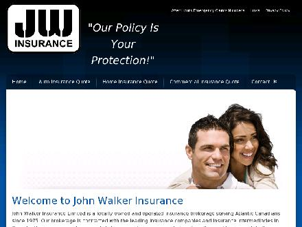 John H Walker Insurance (506-633-1990) - Onglet de site Web - http://www.johnwalkerinsurance.com
