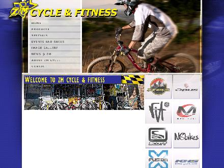ZM Cycle & Fitness Ltd (416-652-0080) - Onglet de site Web - http://www.zmcyclefitness.com
