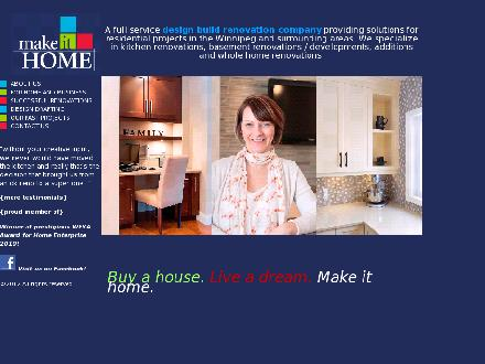 Make It Home LTD (204-290-8113) - Onglet de site Web - http://www.makeithome.ca