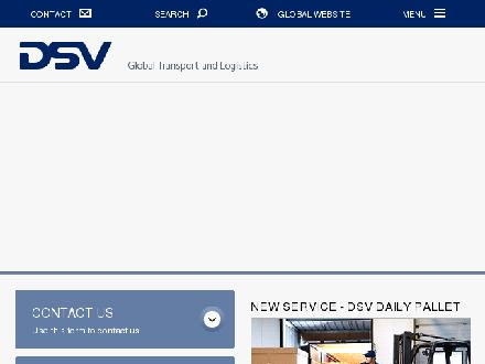 DSV Air & Sea Inc (902-873-3400) - Website thumbnail - http://www.dsv.com