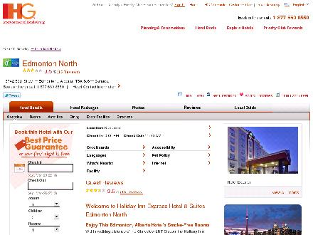 Holiday Inn Express Hotel & Suites EDMONTON NORTH (1-877-654-0228) - Website thumbnail - http://www.hiexpress.com/redirect?path=hd&hotelCode=yegen&_PMID=99604256