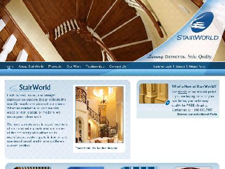 Stairworld Inc (613-723-5454) - Website thumbnail - http://www.stairworld.com