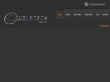 Wolftech (514-923-5762) - Onglet de site Web - http://www.wolftech.ca