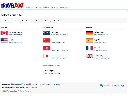 Travelzoo.com - Onglet de site Web - http://www.travelzoo.com