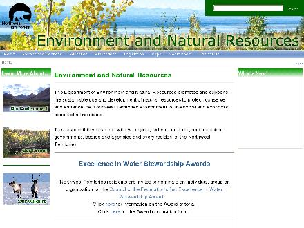 Environment and Natural Resources Renewable Resource Officers (873-7181) - Website thumbnail - http://www.enr.gov.nt.ca