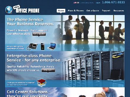 Easy Office Phone (905-297-5239) - Onglet de site Web - http://www.easyofficephone.com