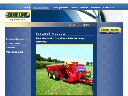 Blueline New Holland (902-895-2583) - Onglet de site Web - http://www.valleyindustries.ns.ca/FeaturedProducts.aspx