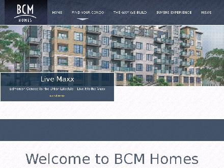 B C M Developments Ltd (780-455-1485) - Website thumbnail - http://www.bcmdevelopments.com