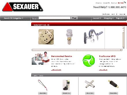 Sexauer Ltd (1-800-387-7967) - Website thumbnail - http://www.jasmro.com