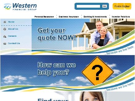 Western Financial Group (780-960-5465) - Onglet de site Web - http://www.westernfinancialgroup.ca