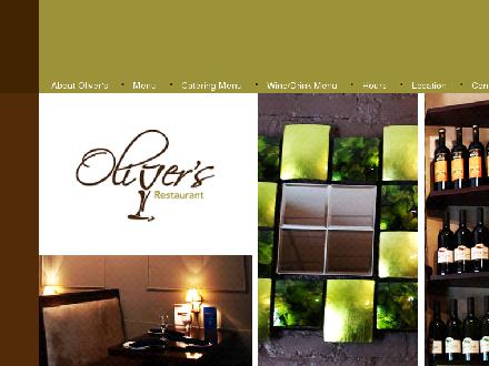 Oliver's (709-754-6444) - Website thumbnail - http://www.olivers-cafe.com
