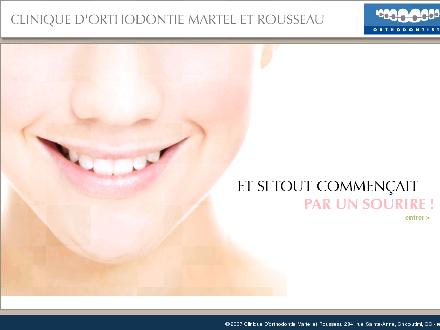Clinique D'Orthodontie Martel Et Rousseau (418-543-9373) - Website thumbnail - http://www.orthomr.com