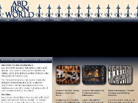 ABD Ironworld Inc (613-745-4600) - Website thumbnail - http://www.abdironworld.com/