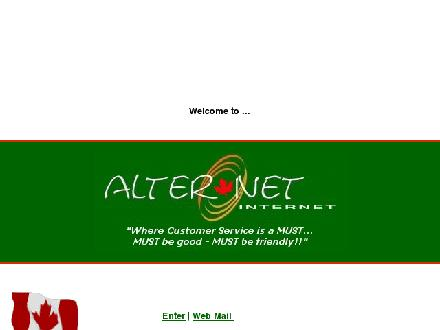 Alter.net Internet (604-514-9835) - Onglet de site Web - http://www.bc-alter.net