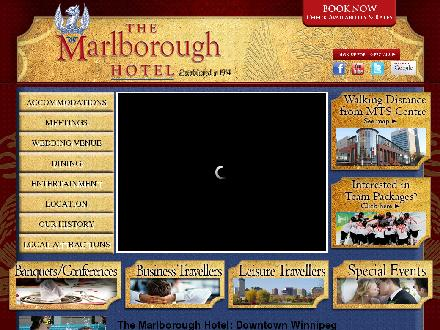 Marlborough Hotel The (204-942-6411) - Website thumbnail - http://www.themarlborough.ca