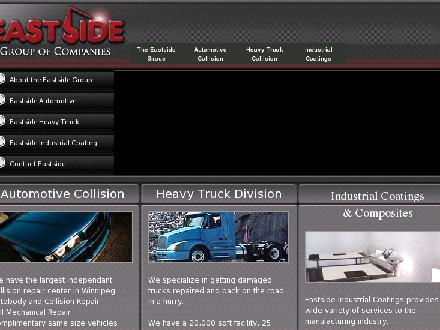 Eastside Collision &amp; Mechanical Repairs Ltd (204-237-7111) - Onglet de site Web - http://www.theeastsidegroup.ca