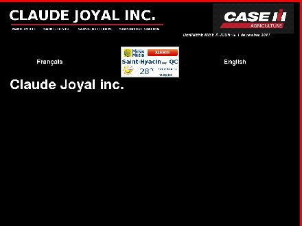 Claude Joyale Inc (819-389-5793) - Website thumbnail - http://www.claudejoyal.com